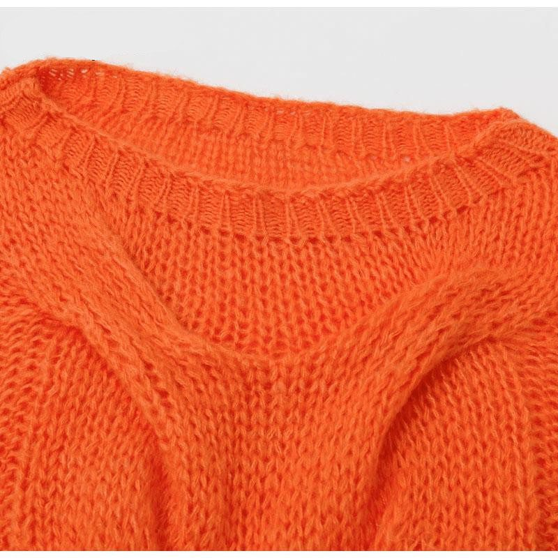 Halloween Pumpkin Pullover Sweater