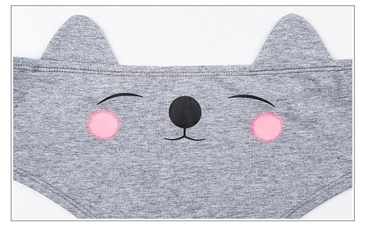 Hot Cute Cat Ear Cotton Panty