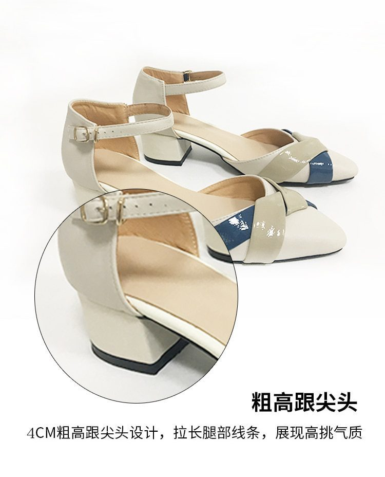 Summer High heel soft ankle sandal