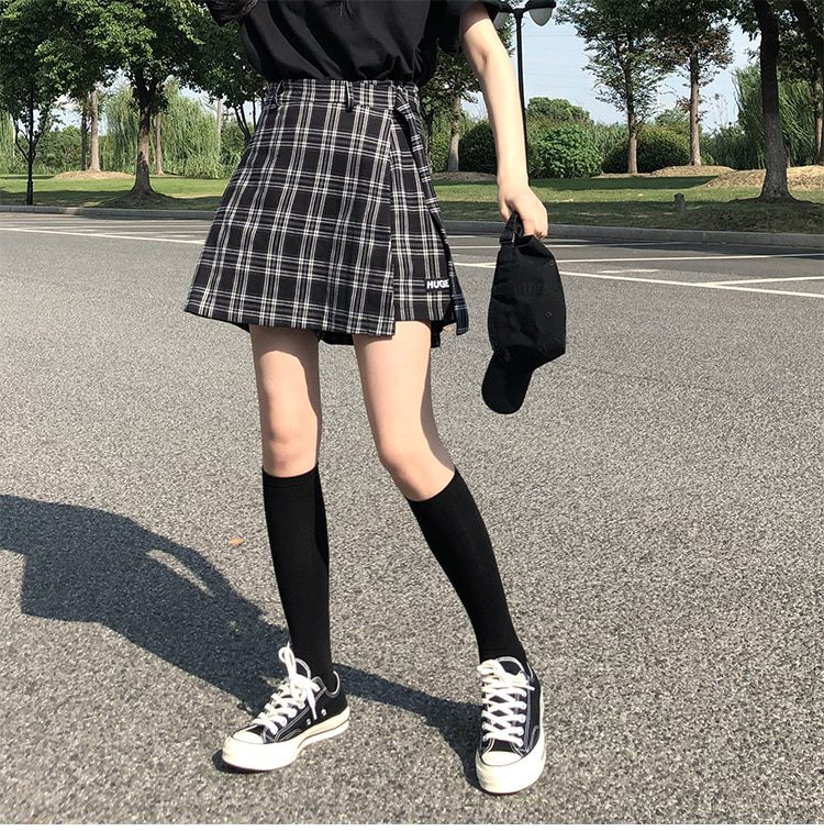 High Waist College Wind Mini Skirts