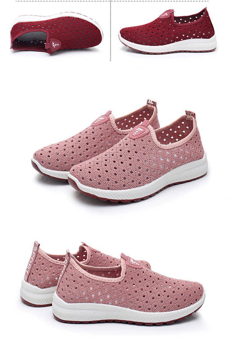 Breathable Hollow Mesh Shoes Sneakers