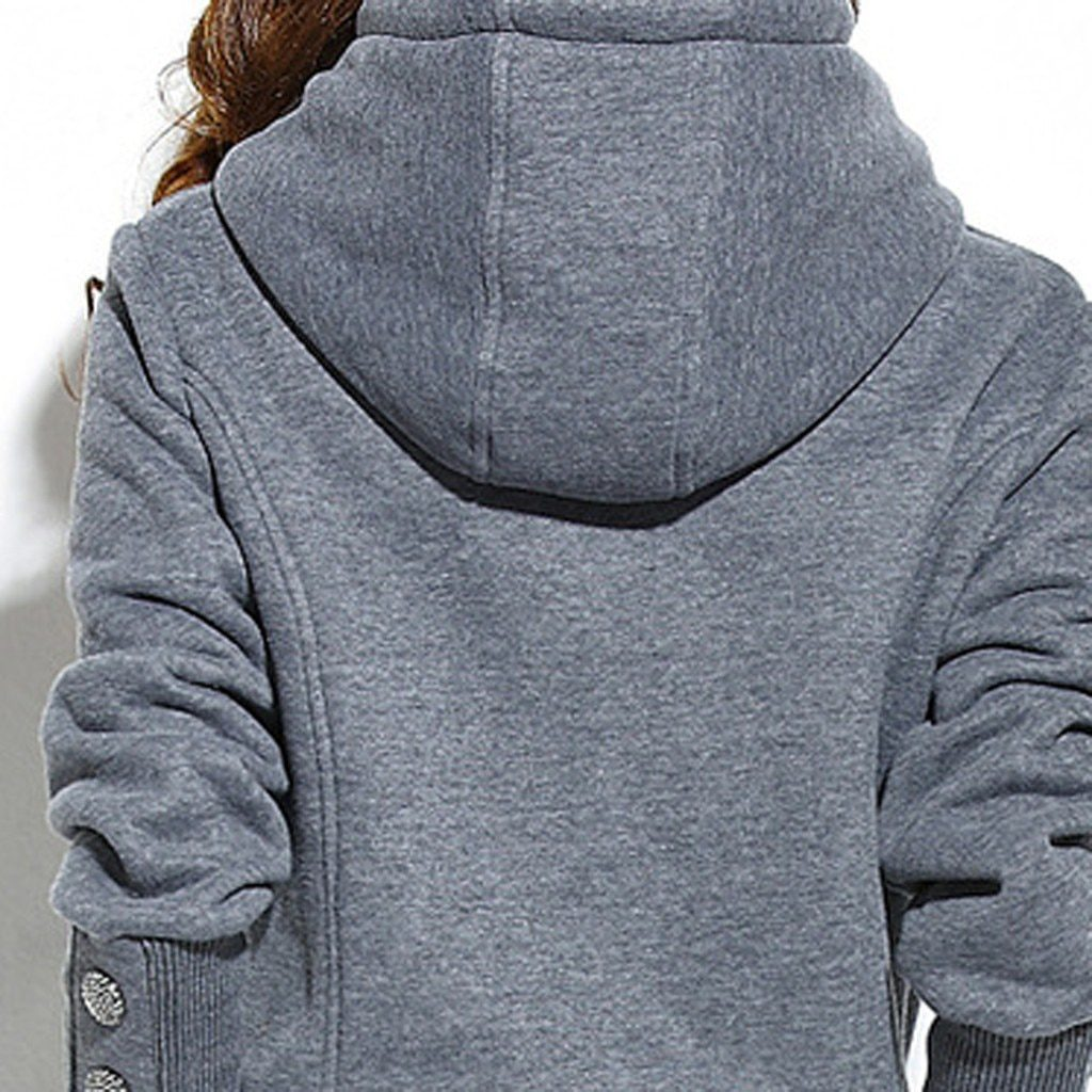 Long Sleeve Split Hoodie With Long Pants Sportswear Outfit Set