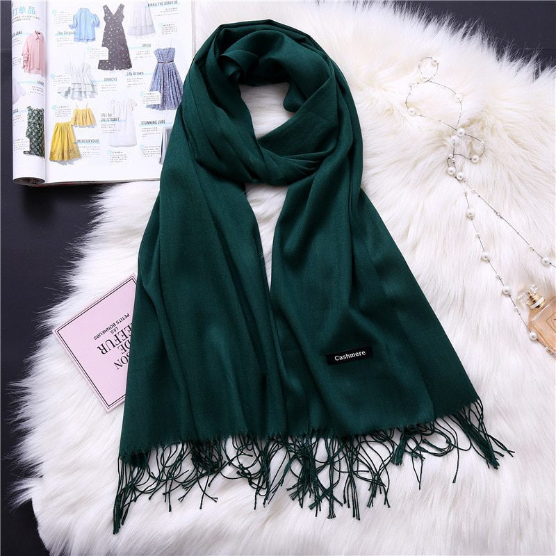 Winter scarves shawls warm for women
