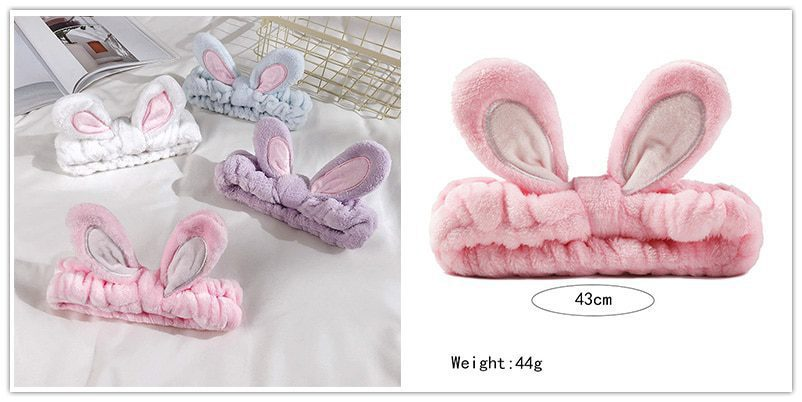 Comfortable Wash Face Hair Big Ears Holder